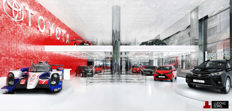 Showroom Toyota